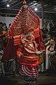 Bhairavan Theyyam at poothapara puthiya mundayatt kavu.jpg