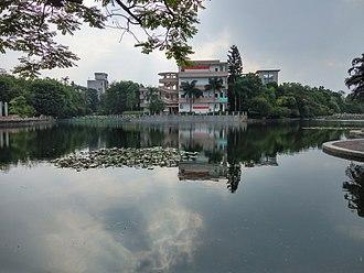 Guangxi University - Biyun Lake, on the campus of Guangxi University