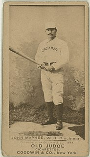 Bid McPhee American baseball player, manager