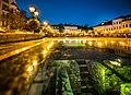 Bielsko-Biała Rynek nocą.jpg