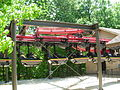 Big Bad Wolf entering station - Busch Gardens Williamsburg.jpg