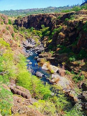Big Chico Creek - Big Chico Creek in Upper Bidwell Park