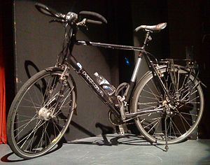 Mark Beaumont - Bike ridden by Mark Beaumont during Americas cycle
