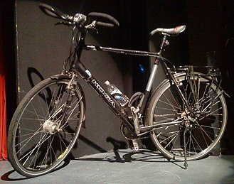 Mark Beaumont (cyclist) - Bike ridden by Beaumont during Americas cycle