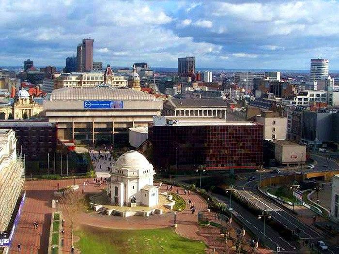 BirminghamUK skyline Centenary Square 700