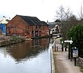 Birmingham and Fazeley Canal, Fazeley Junction - geograph.org.uk - 713536.jpg