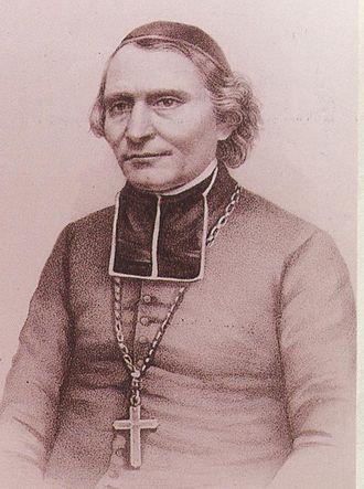 Nicolaus von Weis - Bishop Nikolaus von Weis, litho