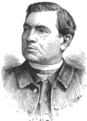 Richard Phelan - A lithograph portrait of Bishop Phelan from The National Cyclopaedia of American Biography