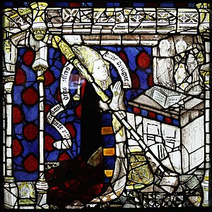 John Thornton (glass painter) - Image: Bishop Walter Skirlaw, East Window, York Minster