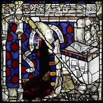 John Thornton (glass painter) - Image: Bishop Walter Skirlaw, East Window, York Minster