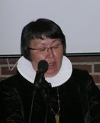 Church of Greenland -  Sofie Petersen, Incumbent Bishop of Greenland.