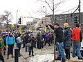 Black Lives Matter protest at TCF Stadium (15966597631).jpg