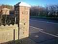 Blackheath Gate Post, Llanteg - geograph.org.uk - 1060480.jpg