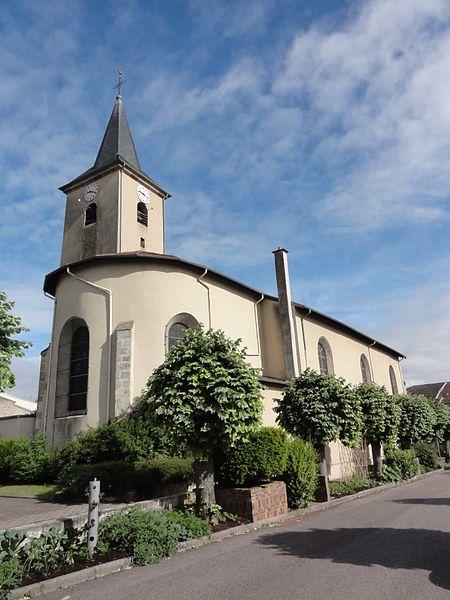 Blainville-sur-l'Eau (M-et-M) église