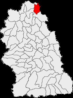 Vị trí của Blajeni