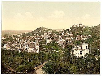 Blankenburg (Harz) - Blankenburg around 1900