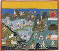 Blindman's Bluff Page From a Dispersed Bhagavata Purana Mewar 1715-20 Metmuseum.jpg