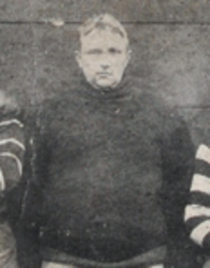 Blondy Wallace - Wallace pictured in the 1906 Canton football photo