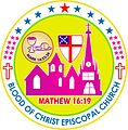 Blood of Christ Episcopal Church, South India LOGO.jpg
