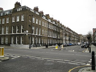 Doughty Street - Image: Bloomsbury, Doughty Street, WC1 geograph.org.uk 667848