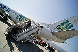 Sibiu - Sibiu Airport, Blue Air flight.