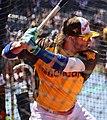 Blue Jays third baseman Josh Donaldson takes batting practice on Gatorade All-Star Workout Day. (28060274883).jpg