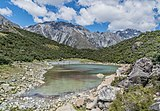 Blue Lake in Mount Cook National Park.jpg