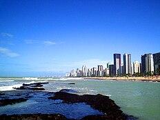 Praia de Boa Viagem, no Recife