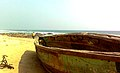 Boat side view of sea at RK Beach 02.jpg