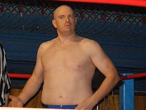 Bob Evans (wrestler) - Evans in 2012
