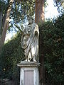 Boboli, secondo incrocio del viottolone, senatore (roman age statue).JPG