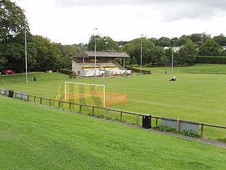 Bodmin Town F.C. - The Priory Park ground