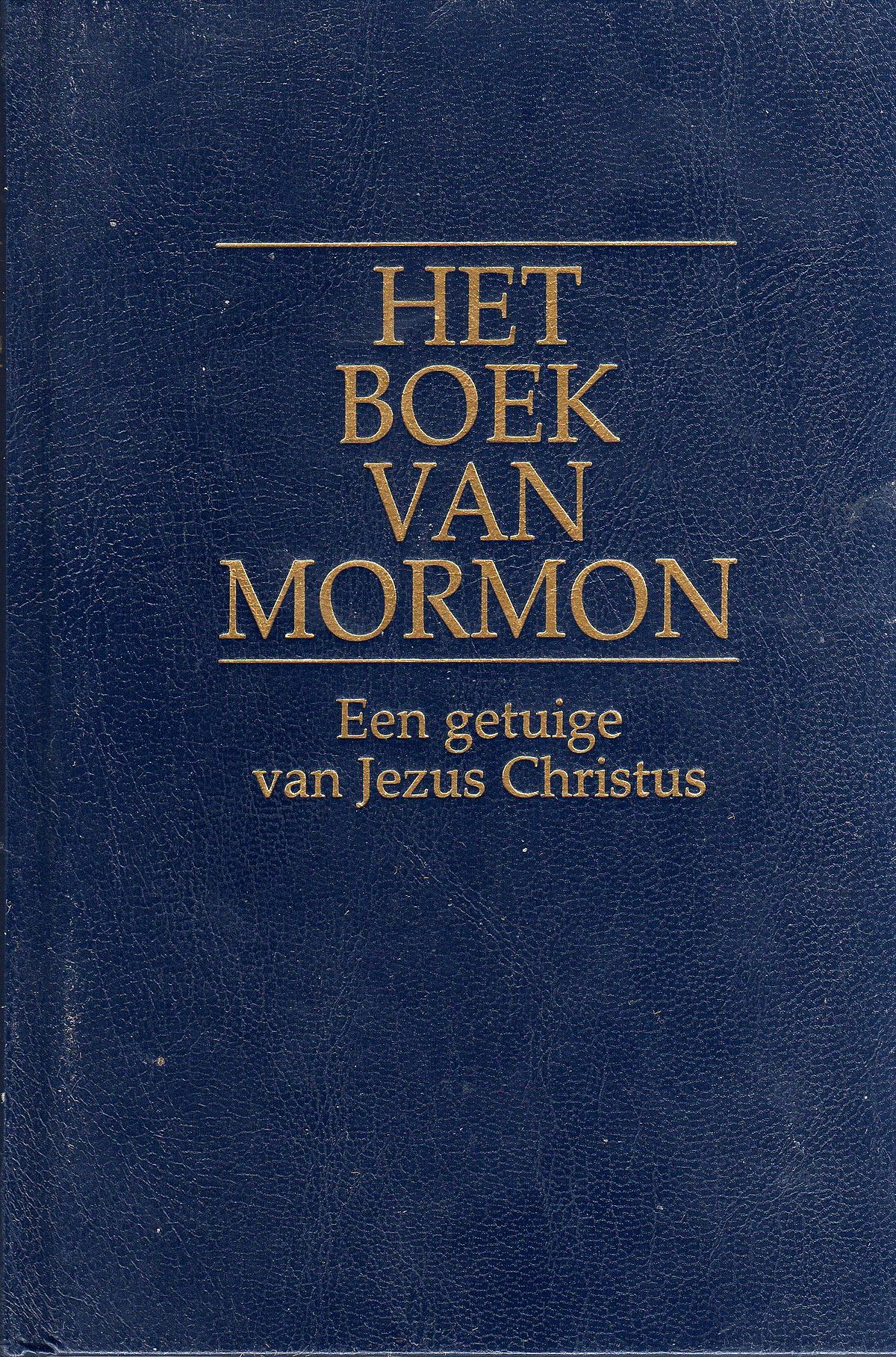 boek van mormon wikipedia