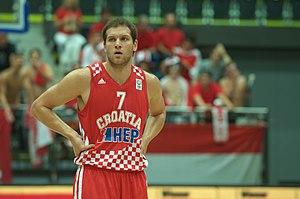 Bojan Bogdanović - Bogdanović playing for the Croatian national team in 2012.