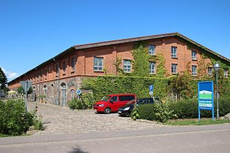 Bollewick - The Bollewick barn was build in 1881. It is considered the biggest stone and brick barn in Germany. It was converted into hotel and event center in 1991.