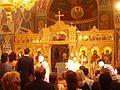 Bonn Griechisch-Orthodoxe Kathedrale Agia Trias Innen Ikonen 2.JPG