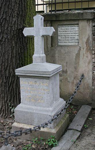 Ernst Moritz Arndt - Arndt's grave in the Old Cemetery in Bonn