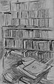 "Bookshelves, Study for ""Edmond Duranty"" MET 43425.jpg"