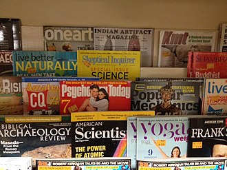 Skeptical Inquirer - Image: Bookstore with Skeptical Inquirer