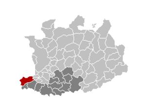 Bornem - Image: Bornem Locatie