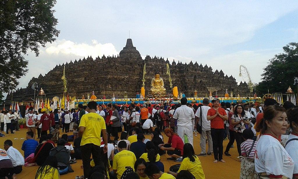 Borobudur Temple on Vesak Day 2015