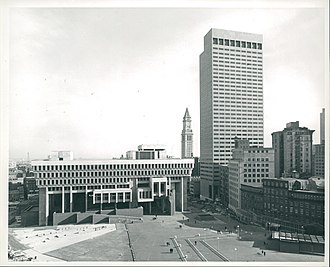 Government Center, Boston - City Hall Plaza, circa 1968