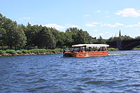 Boston Duck Boat in Water.JPG