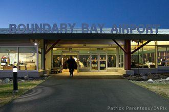 Boundary Bay Airport - Boundary Bay Airport Main Terminal