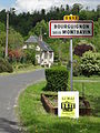 Bourguignon-sous-Montbavin (Aisne) city limit sign.JPG