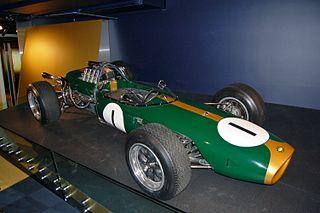 Brabham BT19 Formula One racing car