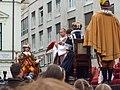 Bratislavské korunovačné slávnosti 2010 - Novokorunovaný kráľ Ferdinand IV. (herec E. Zvarík).jpg