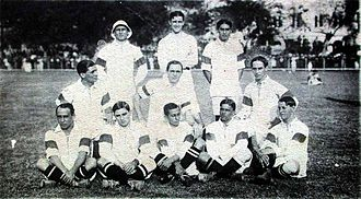 Brazil national football team - The first Brazil national team, 1914