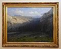 Brenta Gruppe (Südtirol), Gemälde von Ludwig Willroider (1845 - 1910), Villach, Kärnten.jpg