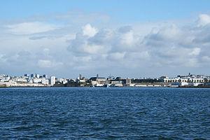 Brest - Entree du port